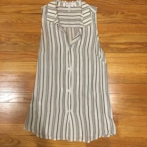 BCBGeneration Collared Blouse